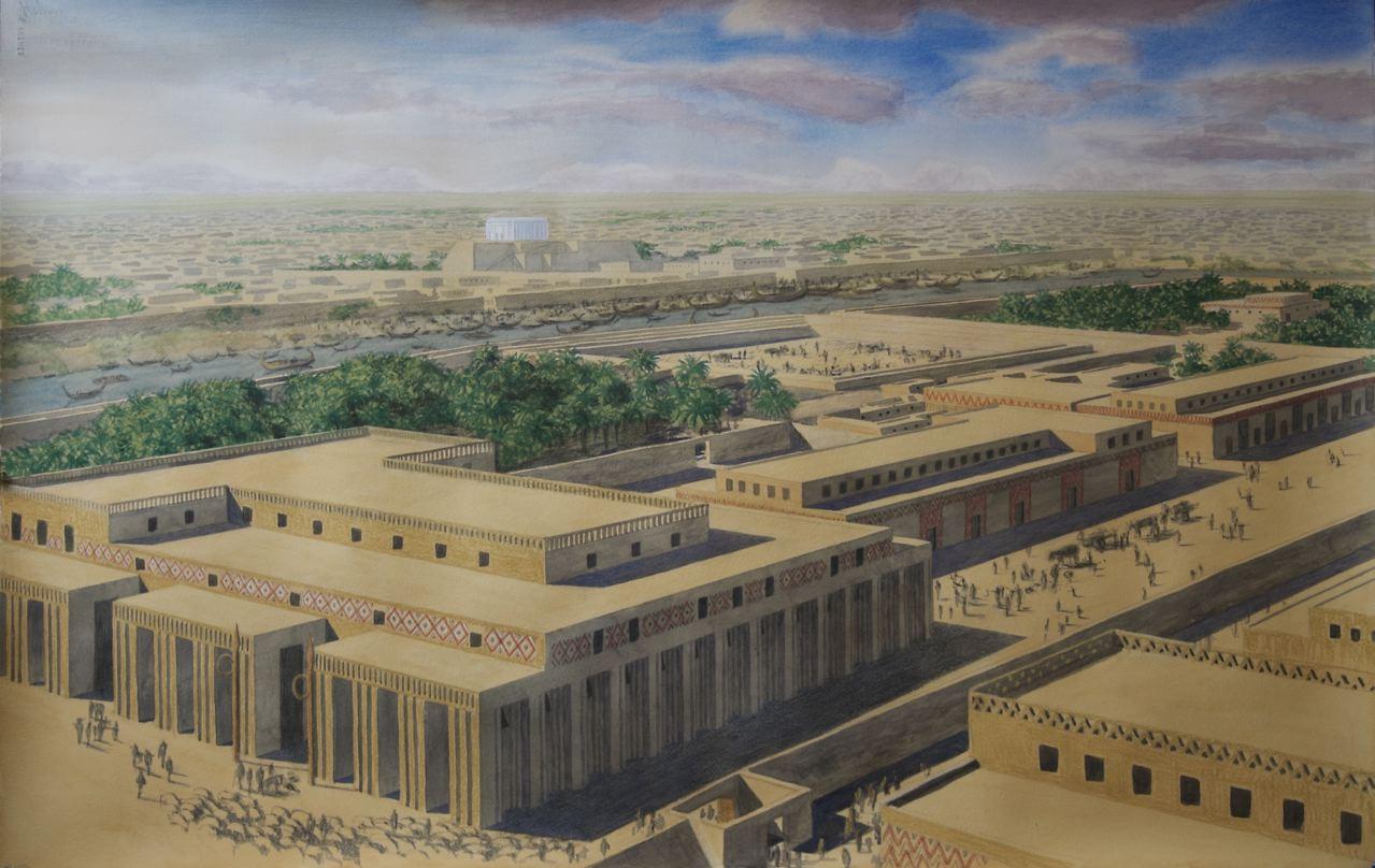 اكتشاف اثري جديد في العراق ! مدينة من العصر البرونزي