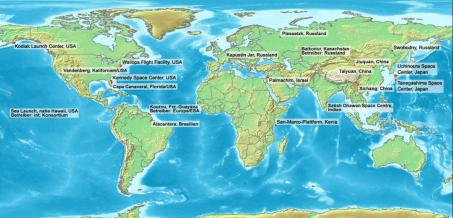 أشهر منصات اطلاق الصواريخ في العالم